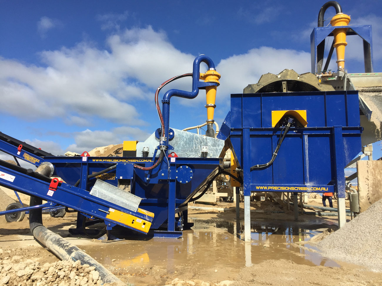 mobile washing plant for sale precisionscreen modular sand washing plant dewaterer