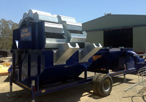 Aggregate Washing Plants - Precisionscreen Screening