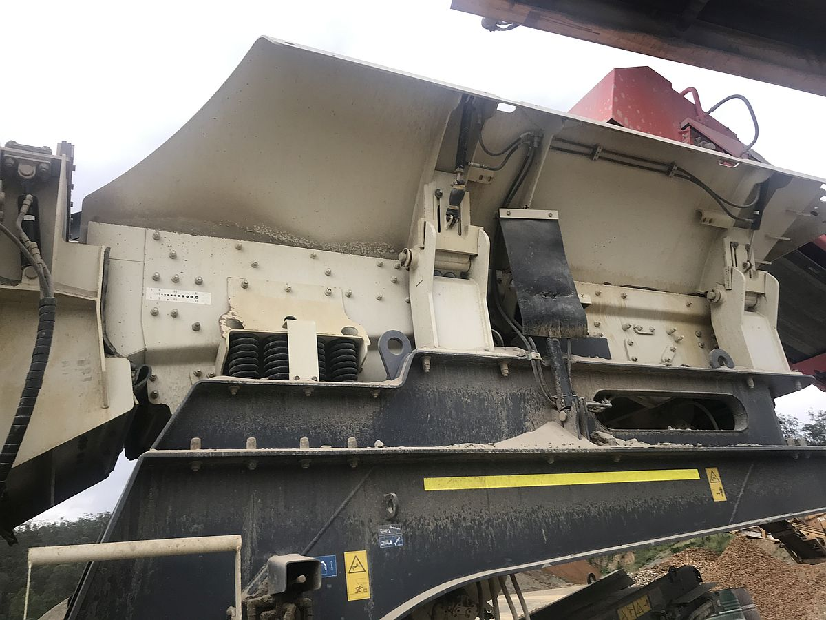 Metso 1213 Impact Crusher (USED) for Sale - Precisionscreen
